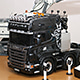 1/14 스카니아(Scania) R730 8x4 TOPLINE METALLIC BLACK 2nd Upgrade