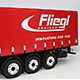 1/14 칼슨(Carson) Fliegl Megarunner Canvas Cover Semi-Trailer