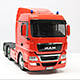 1/14 MAN TGX 26.540 6x4 XLX Bright Orange