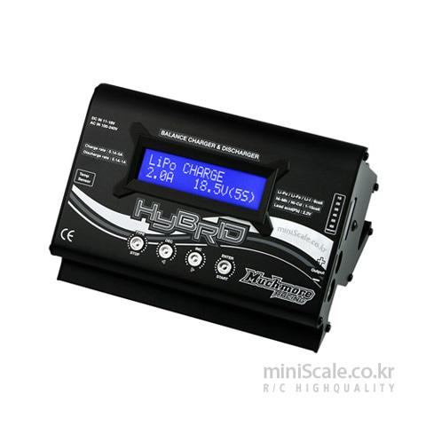 Hybrid AC/DC Balance Charger & Discharger(Black) 머치모어(MuchMore) 미니스케일