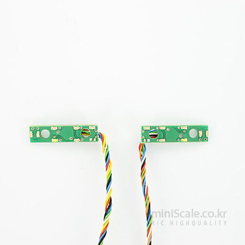 6-Chamber LED Board 7,2 Volt 칼슨(Carson) 미니스케일