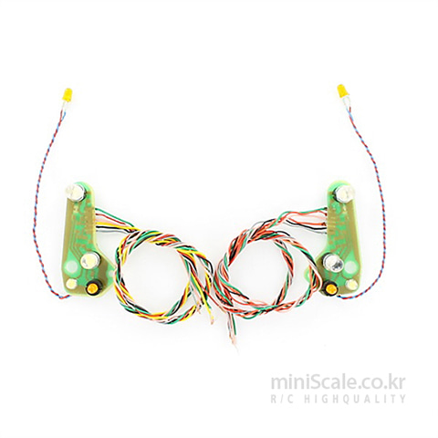 MB Actros LED Board(Head Lights) 7,2 Volt / 칼슨(Carson)