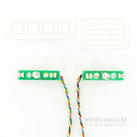 SCANIA LED Board(Tail Lights) 7,2 Volt / 칼슨(Carson)