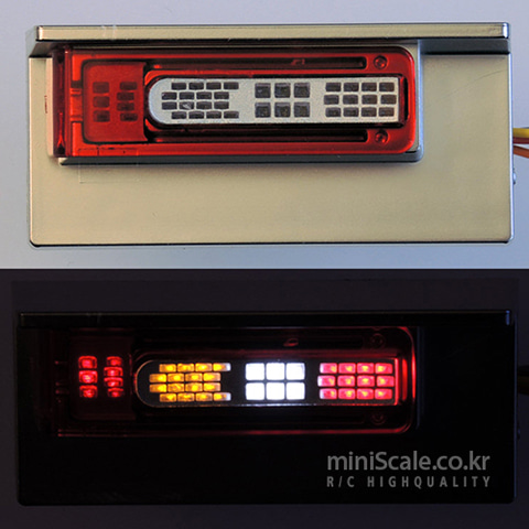 Volvo Lighting Board Rear / 서보넛(ServoNaut)