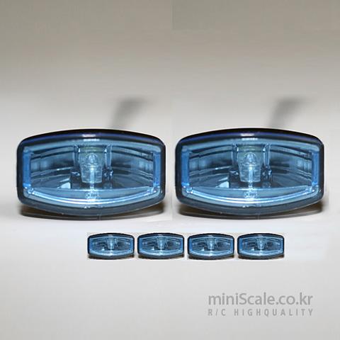 Jumbo Lights Blueglass(4ea) 베르켈크(Verkerk) 미니스케일