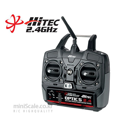 Optic5 2.4GHz / 하이텍(Hitecrcd)
