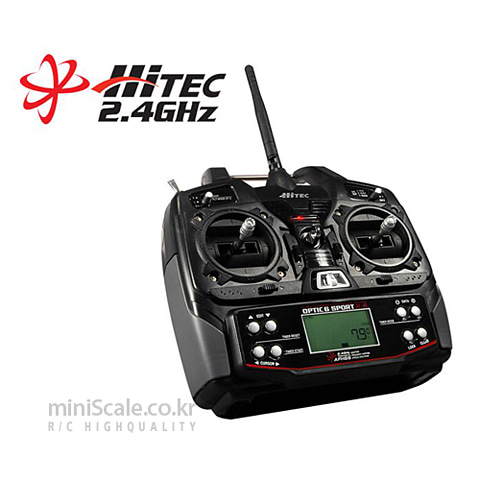Optic6 Sport 2.4GHz / 하이텍(Hitecrcd)