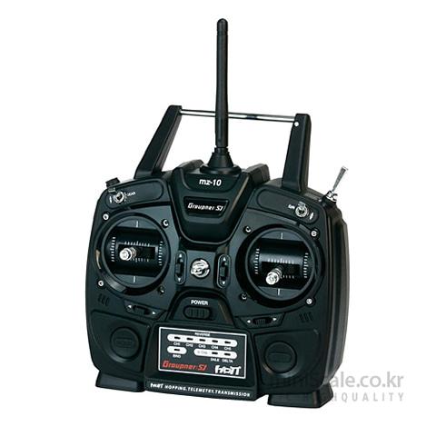 mz-10 5 Channel 2.4GHz HoTT 그라프너(Graupner/SJ) 미니스케일