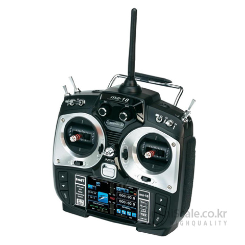 "mz-18 9 Channel 2.4GHz HoTT 3.5"" TFT LCD 그라프너(Graupner/SJ) 미니스케일"