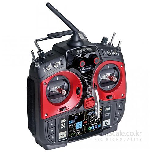 "mz-24 PRO 12 Channel 2.4GHz HoTT 3.5"" TFT LCD / 그라프너(Graupner/SJ)"