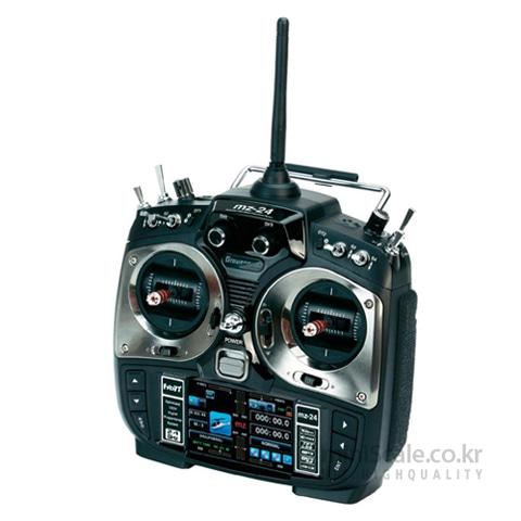 "mz-24 12 Channel 2.4GHz HoTT 3.5"" TFT LCD 그라프너(Graupner/SJ) 미니스케일"