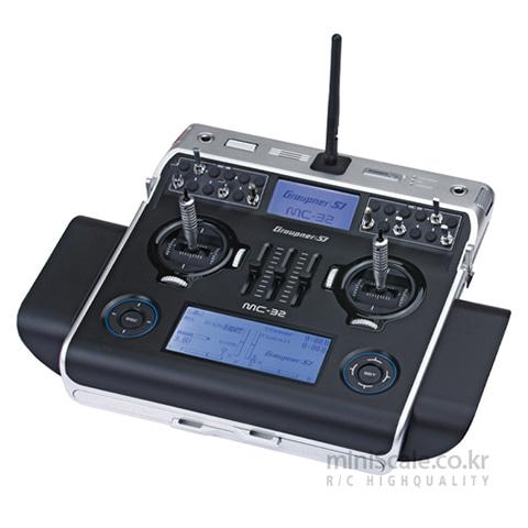 MC-32 PRO 16 Channel 2.4GHz HoTT(Duel TFT LCD) 그라프너(Graupner/SJ) 미니스케일