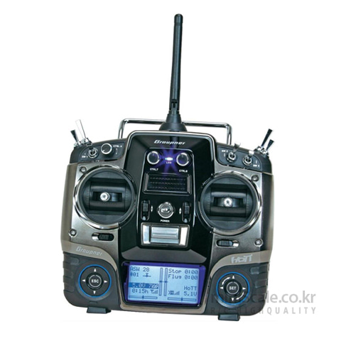 mx-20 12 Channel 2.4GHz HoTT 그라프너(Graupner/SJ) 미니스케일