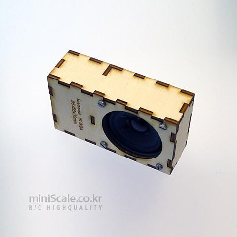 SpeakerBox85 서보넛(ServoNaut) 미니스케일