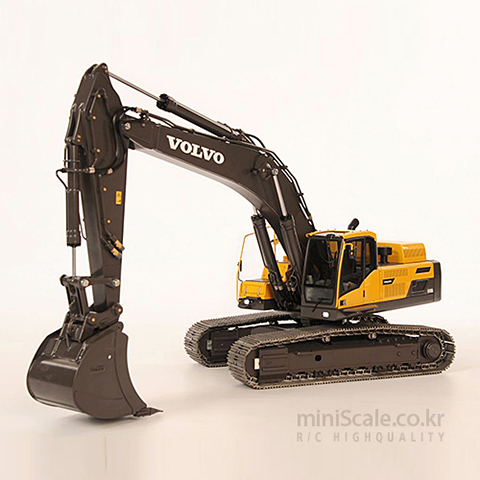 Volvo Excavator EC480D THS트럭모델(THS-Truckmodelle) 미니스케일