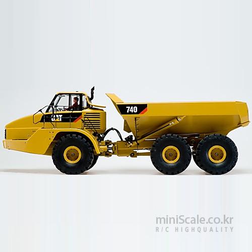 CAT 740 Articulated Dumper Truck / 웨디코(Wedico)