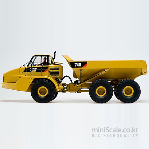 CAT 740 Articulated Dumper Truck / 웨디코(Wedico)