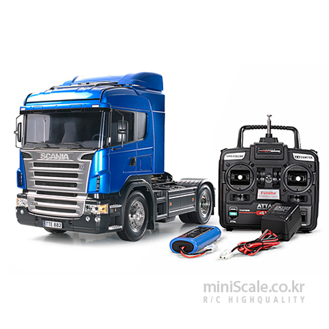 Scania R470 4x2 Highline FULL OPERATION KIT 타미야(Tamiya) 미니스케일
