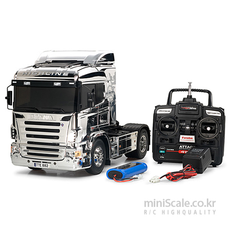 Scania R470 4x2 Highline Metallic Special FULL OPERATION KIT / 타미야(Tamiya)