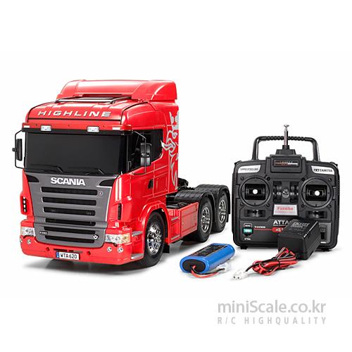 Scania R620 6x4 Highline FULL OPERATION KIT 타미야(Tamiya) 미니스케일