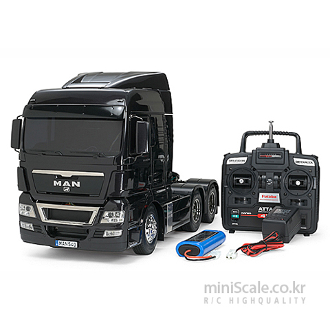 MAN TGX 26.540 6x4 XLX FULL OPERATION KIT / 타미야(Tamiya)