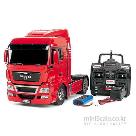 MAN TGX 18.540 4x2 XLX FULL OPERATION KIT 타미야(Tamiya) 미니스케일