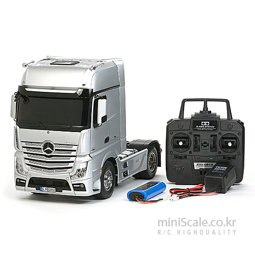 Mercedes-Benz Actros 1851 Gigaspace 4x2 FULL OPERATION KIT 타미야(Tamiya) 미니스케일
