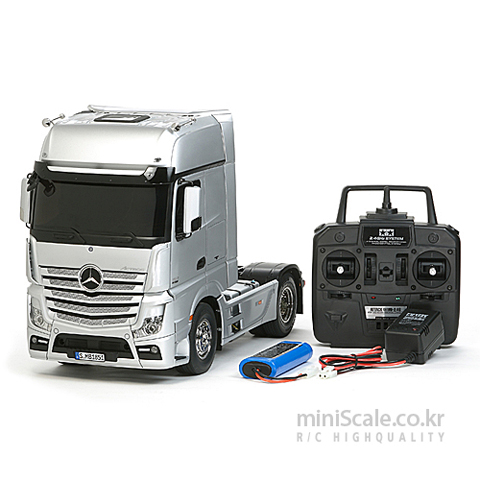 Mercedes-Benz Actros 1851 Gigaspace 4x2 FULL OPERATION KIT / 타미야(Tamiya)