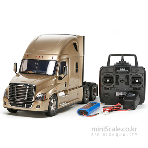 Freightliner Cascadia Evolution FULL OPERATION KIT 타미야(Tamiya) 미니스케일