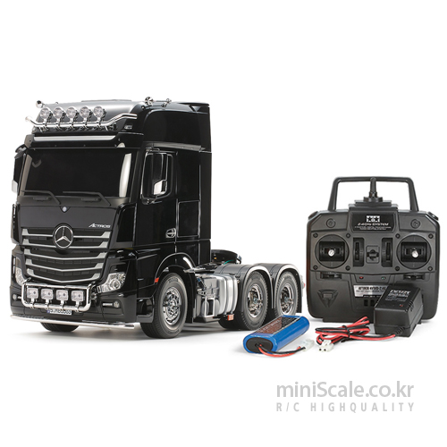 Mercedes-Benz Actros 3363 Gigaspace 6x4 FULL OPERATION KIT / 타미야(Tamiya)