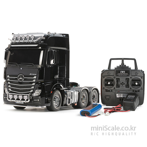 Mercedes-Benz Actros 3363 Gigaspace 6x4 FULL OPERATION KIT 타미야(Tamiya) 미니스케일