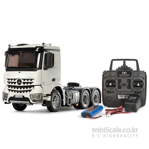 Mercedes-Benz Arocs 3363 ClassicSpace 6x4 FULL OPERATION KIT / 타미야(Tamiya)