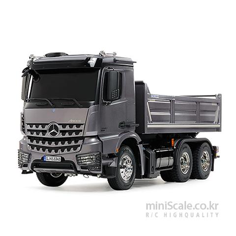 Mercedes-Benz Arocs 3348 6x4 Tipper Truck 타미야(Tamiya) 미니스케일
