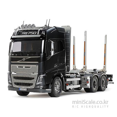 VOLVO FH16 GLOBETROTTER 750 6X4 Timber Truck / 타미야(Tamiya)