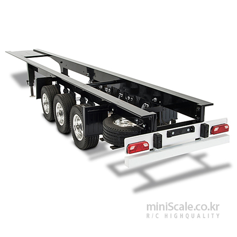 3-Axle Semi Trailer Chassis Ver.II 칼슨(Carson) 미니스케일