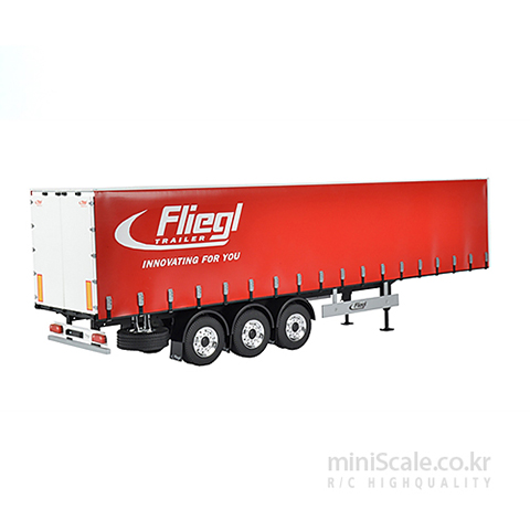 Fliegl Megarunner Canvas cover semi-trailer 칼슨(Carson) 미니스케일