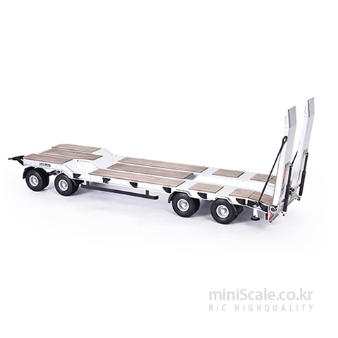 GOLDHOFER TU4 Flatbed-Trailer 4A 칼슨(Carson) 미니스케일