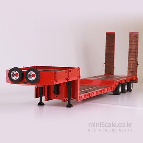 3-Axle Lowbed Semi-Trailer 스케일아트(ScaleART) 미니스케일
