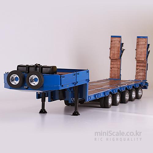 5-Axle Lowbed Semi-Trailer 스케일아트(ScaleART) 미니스케일