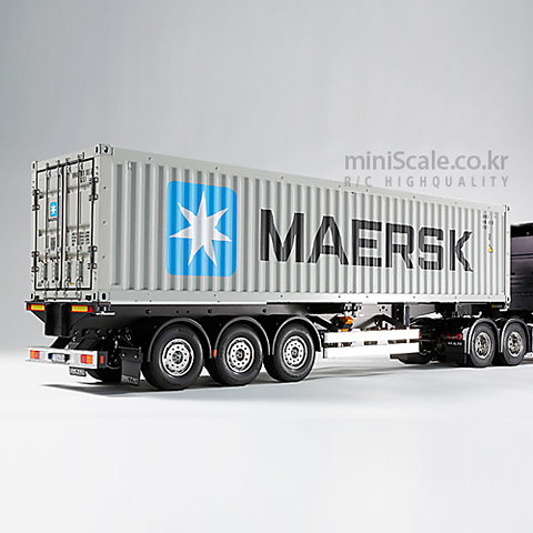 40ft Container Semi Trailer (Maersk) 타미야(Tamiya) 미니스케일