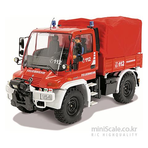 Mercedes Benz Unimog U300 Fire Brigade RTR 칼슨(Carson) 미니스케일