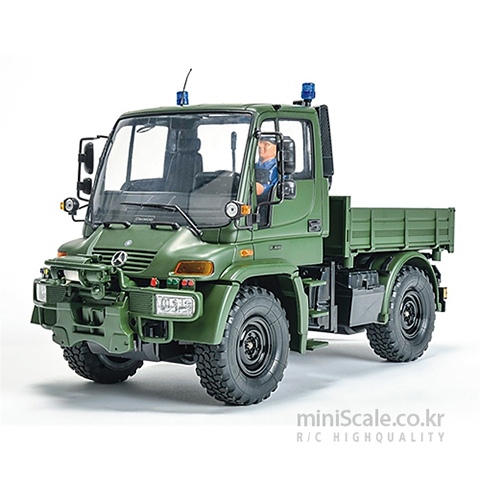 Mercedes Benz Unimog U300 Military RTR 칼슨(Carson) 미니스케일