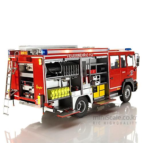 Feuerwehrfahrzeug HTLF 16/20 MAN 로베(Robbe) 미니스케일