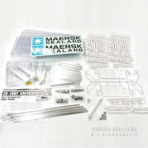MAERSK 20-FOOT CONTAINER 미니스케일(Miniscale) 미니스케일