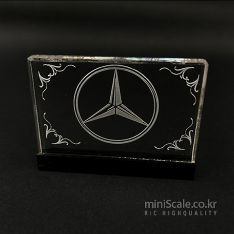 Interior Logo Board V1 for Mercedes Benz Actros / 미니스케일(Miniscale)