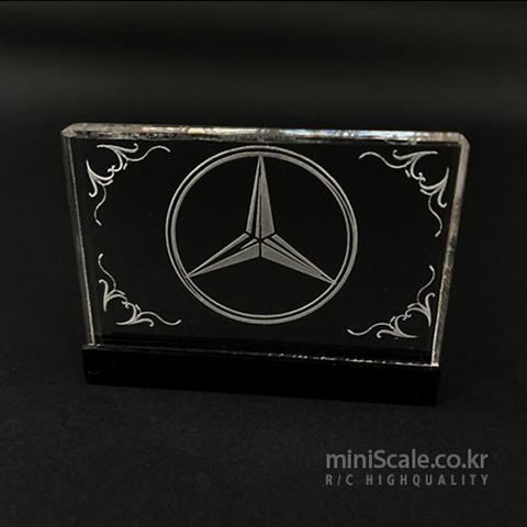 Interior Logo Board V1 for Mercedes Benz Actros 미니스케일(Miniscale) 미니스케일