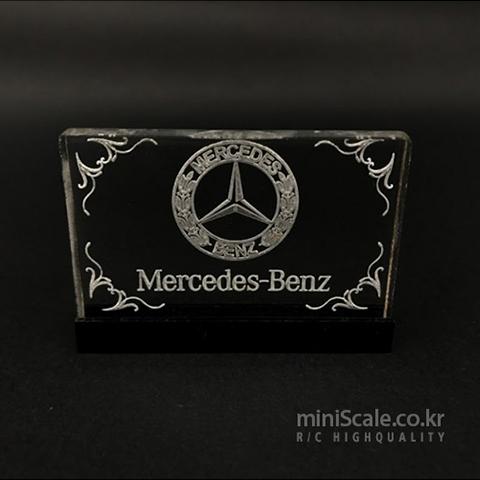 Interior Logo Board V2 for Mercedes Benz Actros 미니스케일(Miniscale) 미니스케일