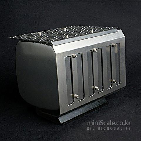 Reailty Alum.CNC Muffler for Mercedes Benz Actros Ver.A 미니스케일(Miniscale) 미니스케일
