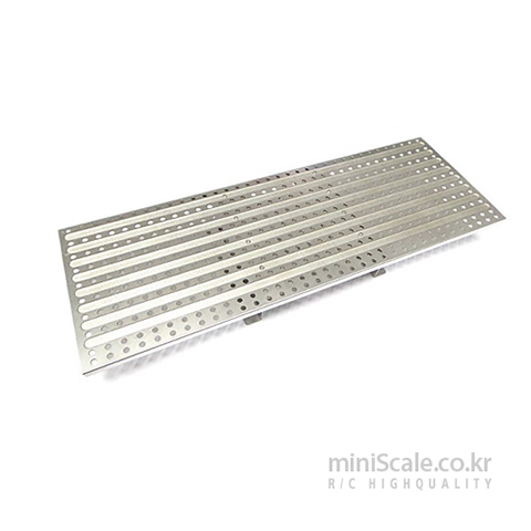 Stainless Steel Rear Plate for Heavy Hauler Frame Kit / 미니스케일(Miniscale)