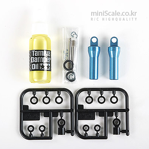Tractor Truck Oil Shocks (1 Pair) / 타미야(Tamiya)